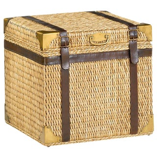 Lampakanay Grass Woven Trunk/Side Table