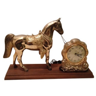 Horse Mantel Clock