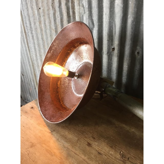 Image of Industrial Style Metal Lamp
