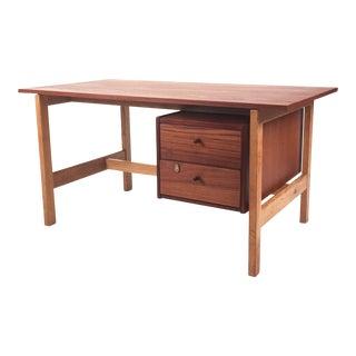 Vintage Hans Wegner Danish Teak & Oak Desk
