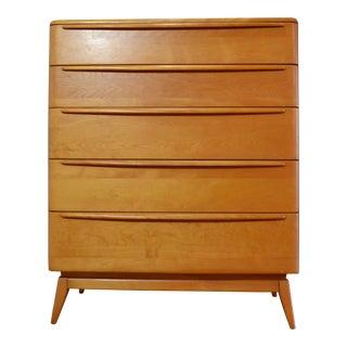 Heywood Wakefield Mid-Century Tall Chest or Dresser