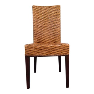 Contemporary Wicker Side Chair