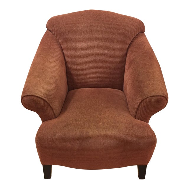 Vintage Style Upholstered Armchair - Image 1 of 5