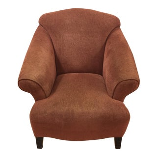 Vintage Style Upholstered Armchair