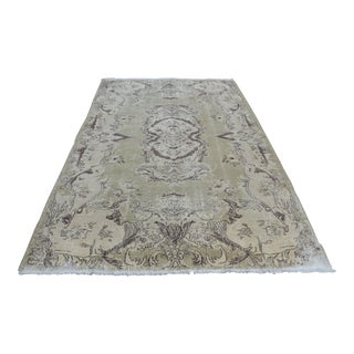 Turkish Oushak Rug - 6′2″ × 9′9″