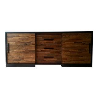 Seguro Media Brazilian Wood Console