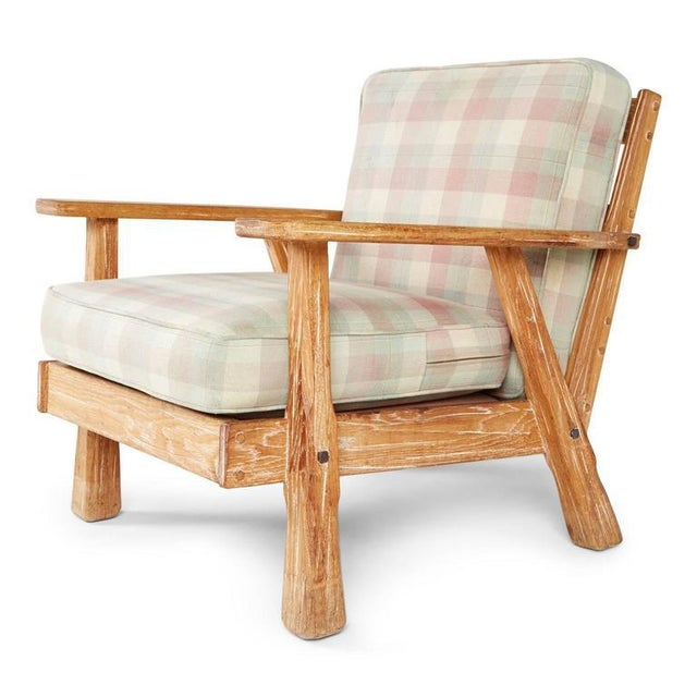 A. Brandt Ranch Textured Oak Seating Set - Image 9 of 9