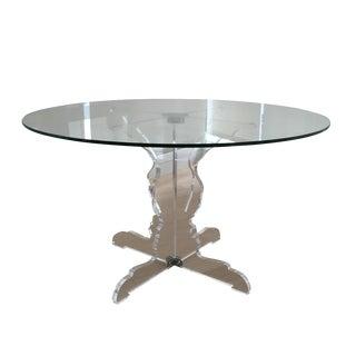 Roche Bobois Profil Round Dining Table