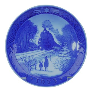 1973 Royal Copenhagen Christmas Plate