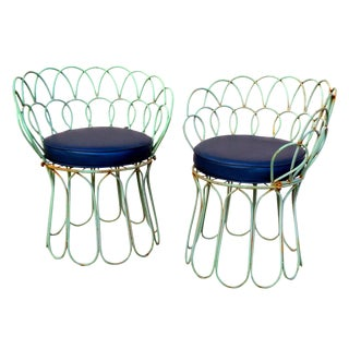 Vintage Amp Used Blue Accent Chairs Chairish