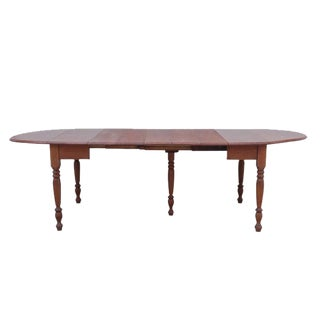 English Country Dropleaf Farm Table