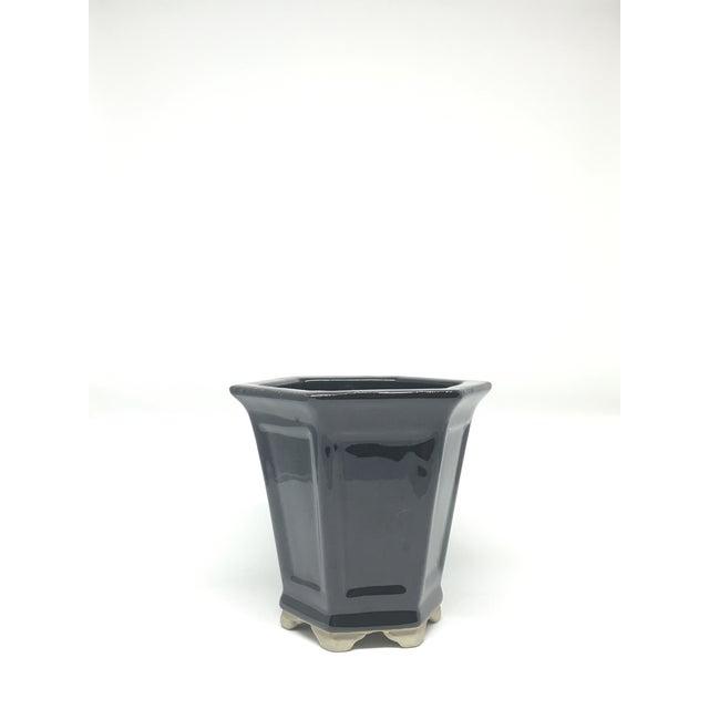 Vintage Hand-Glazed Asian Planter - Image 2 of 7