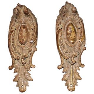 French Bronze Doré End Mounts - S/2