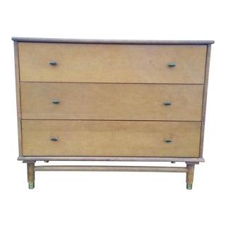 Petite Mid-Century Modern Maple Dresser