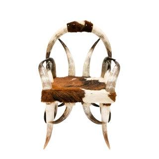 Texas Long Horn Arm Chair