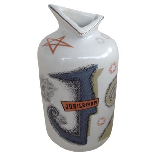 Atomic Jubelaum Ca Pottery Bottle