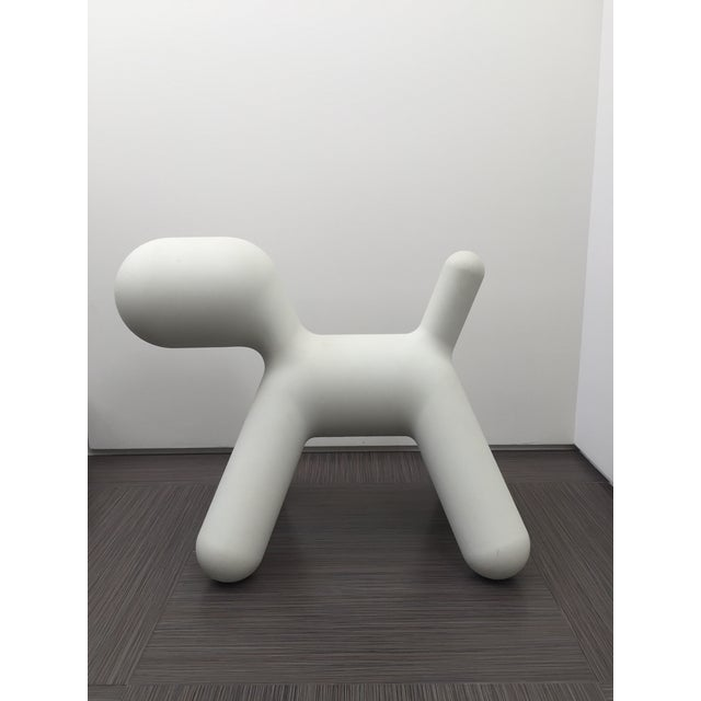 eero aarnio white magis puppy chairish. Black Bedroom Furniture Sets. Home Design Ideas