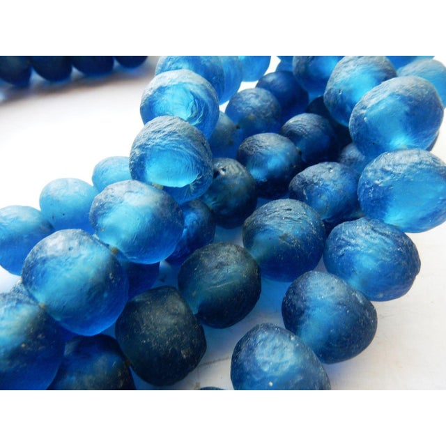 African Jumbo Glass Trade Bead Strands - Set of 5 - Image 5 of 8