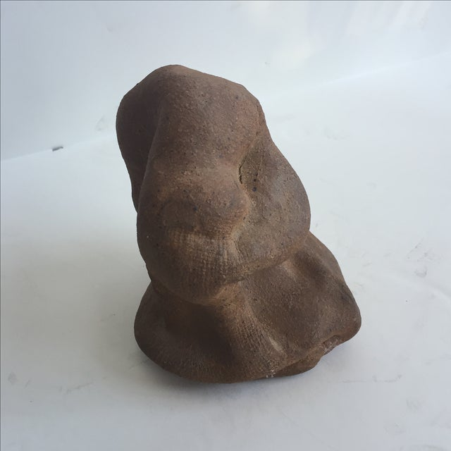 Terracotta Free-Form Sculpture - Image 4 of 9