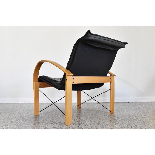 Vintage Italian Bentwood Lounge Chair - Image 5 of 10