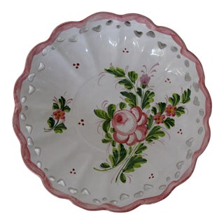 Italian Ceramic Decorative Plate