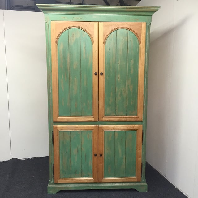 beau sejour custom built armoire chairish