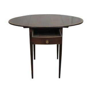 Small Drop Leaf Tables - a Pair
