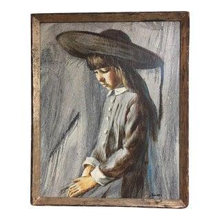 Frank Palmieri Impressionist Portrait Oil Painting