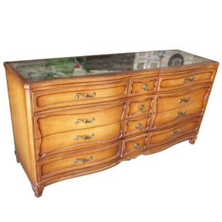 Antique Style French Provincial Dresser Console