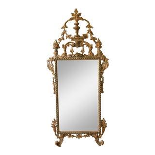Italian Wood Carved Mirror