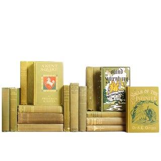 Vintage Olive Mix of Books - 20