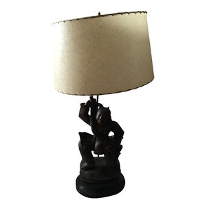Figure of a Japanese Man Lamp