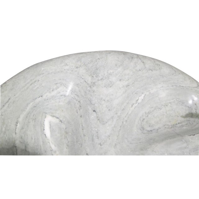 Vintage Sarreid LTD Green Marble Sculpture - Image 4 of 4