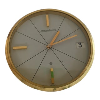 Jaeger-LeCoultre 8-Day Movement & Date Desk Clock