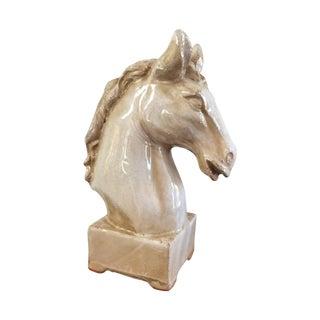 1930's Ceramic Horse Head