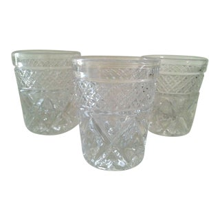 Mid-Century Whiskey Shot Glasses - Set of 3