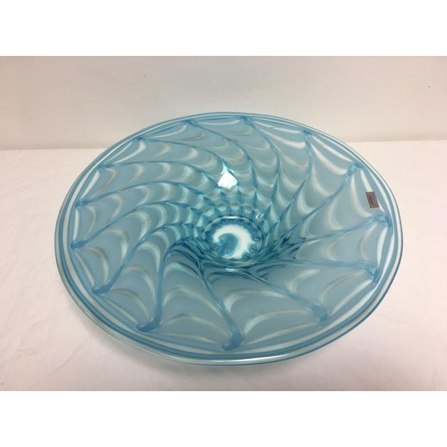 Waterford Evolution Aqua Art Glass Bowl - Image 7 of 8