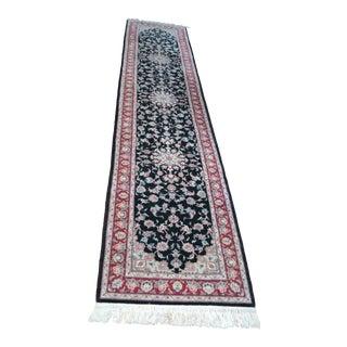 """Hand Woven Persian Rug Runner - 12' X 2'6"""""""