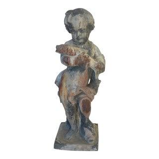 19th C. Lead Garden Statue