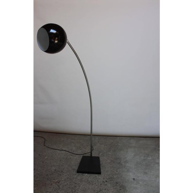 Fully Adjustable Vintage Arching Floor Lamp - Image 8 of 9