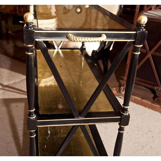 Maison Jansen Three-Tier Serving Cart - Image 8 of 8