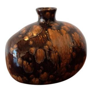 Unique Wood Fired Studio Pottery Ceramic Vessel