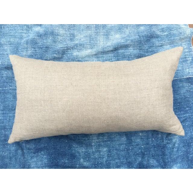 Antique Bleached Batik Pillow - Image 7 of 7