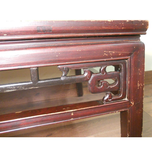 Antique Ming Coffee Table - Image 3 of 8