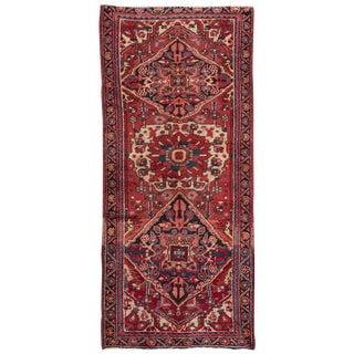 "Apadana Vintage Persian Heriz Rug - 2'9"" x 6'"