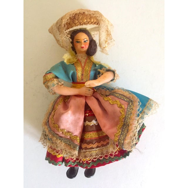 1950's Vintage Handcrafted Spanish Gypsy Souvenir Dolls- Set of 3 - Image 3 of 11