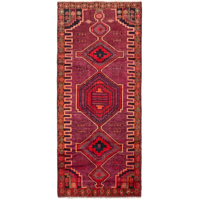 """Hand-Knotted Persian Rug - 4'3"""" X 10'6"""" - Image 3 of 5"""