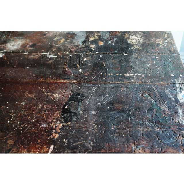 Image of Vintage Rustic Pine Work Table