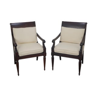 Richard Frinier Archipelago for Century Teak Armchairs - A Pair