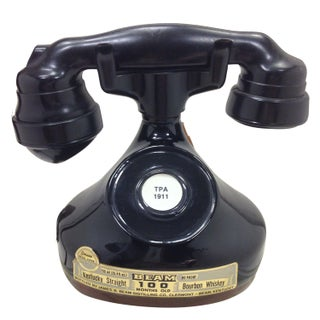Jim Beam 1928 French Phone Decanter Empty